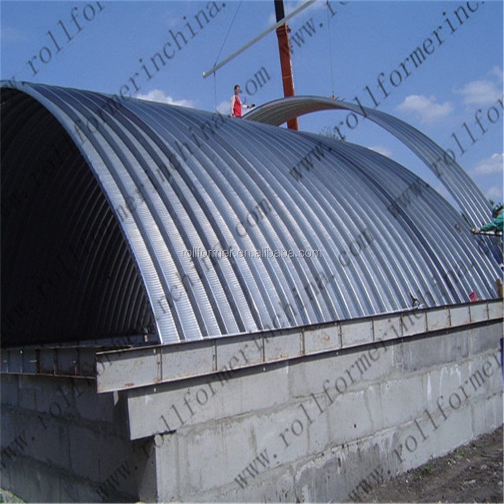 Steel Building Kits And Metal Buildings By Steel Building: Arch Steel Building Kits/arch Storage Building Machine