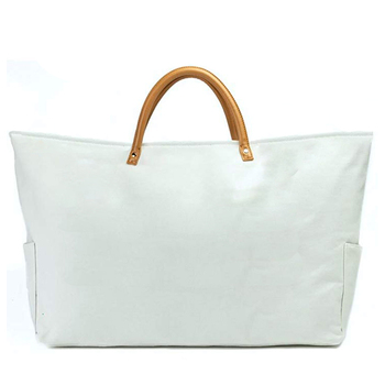 Oversized Canvas Beach Bag Tote for Women Large Canvas Shoulder Bag with PU  Handles beacb4a6e