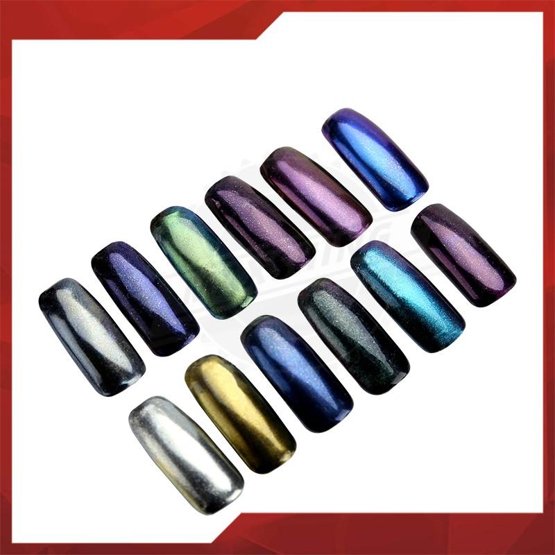 Maxshing Colorful Aluminum Powder Pigment Non-toxic Pigment For Nail ...