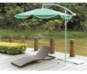 Cheap And Popular Poly Rattan Sun Lounger For Swimming Pool