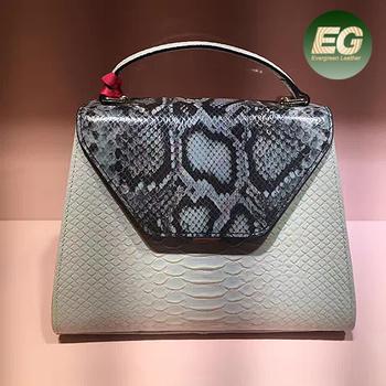 Best Ing Luxury Designer Handbags Snake Pattern Las Hand Bag Leather Ping Shoulder Handbagemg5092