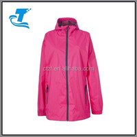 Outdoor Women Rain Jacket With Hood