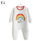 Infant Baby Outfits Clothes Girl Boys Romper Newborn Cute Wings Lacing Jumpsuit
