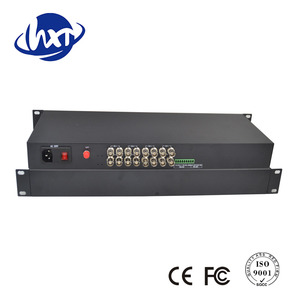 8 Channel HD-SDI + 1-Ch Forward Audio Video Fiber Converter