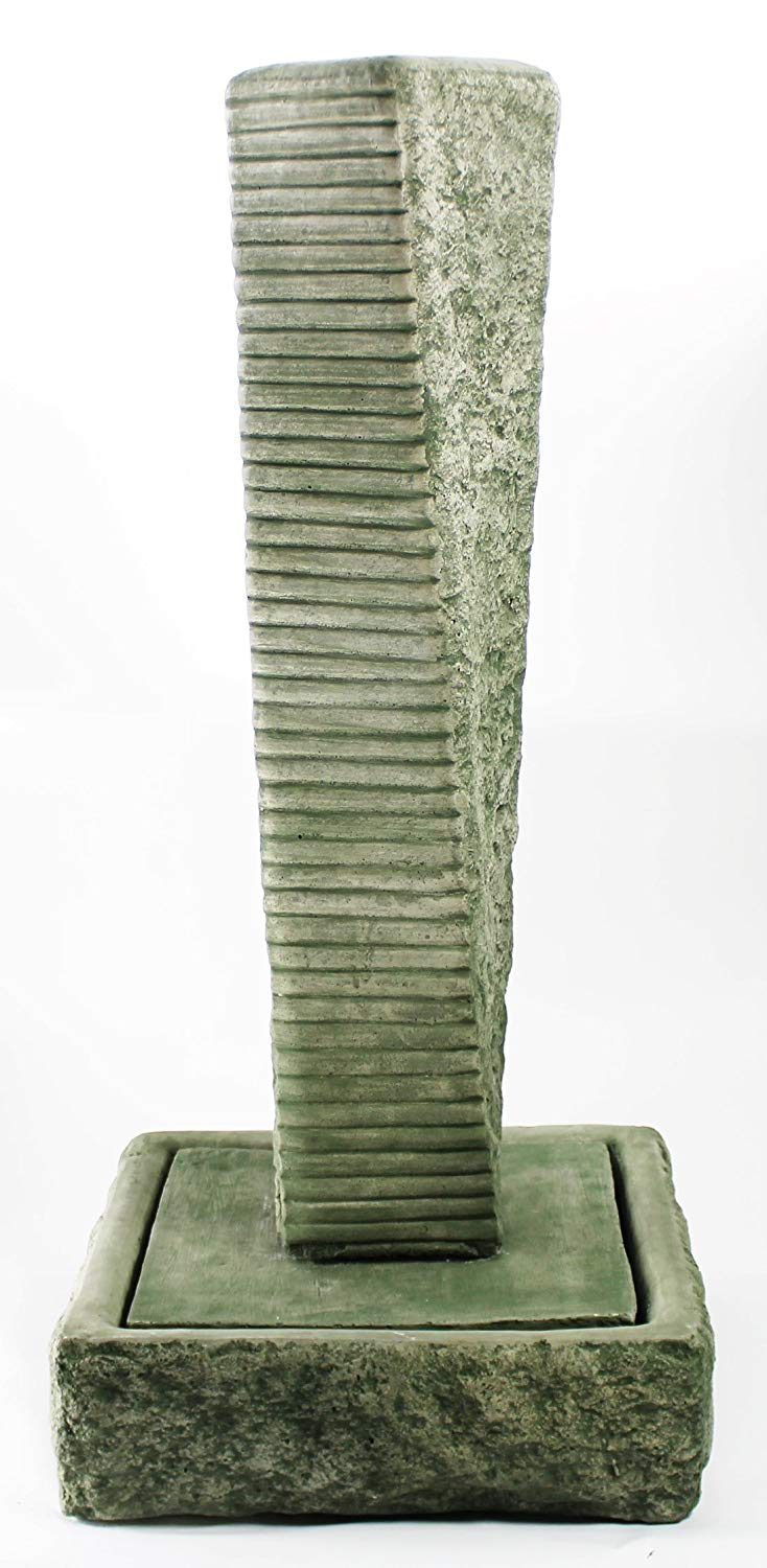 Get Quotations Rustic Twist Fountain Modern Water Feature Contemporary Garden