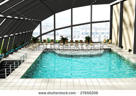 low cost prefabricated canopy roof of swimming pool