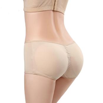 6546e4431774 Women silicone Butt Lifter Lingerie Underwear Padded Seamless Butt Hip  Enhancer Shaper Panties push up buttocks