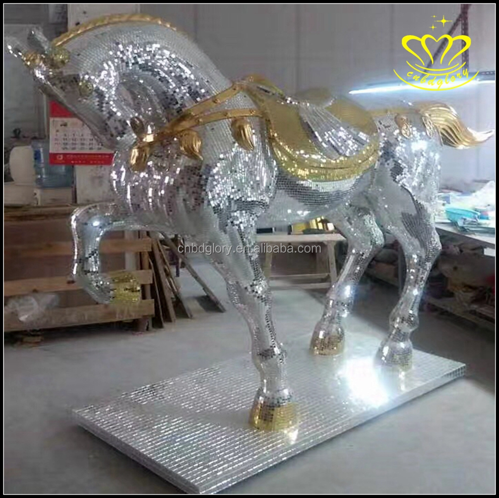 Custom Resin Fiberglass Clear Surface Iridescent Colorful Mosaic ... for Clear Resin Sculpture  565ane