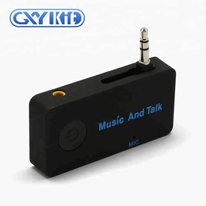 GXYKIT H5 car aux bluetooth adapter 3.5mm jack bluetooth music receiver
