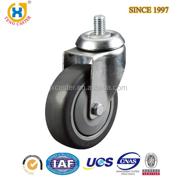 Popular Wholesales 5 Inch Industry Furniture Hardware Grey <strong>Roller</strong> Caster Wheel