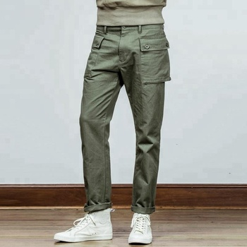 formal fashion baggy chino straight long casual pants