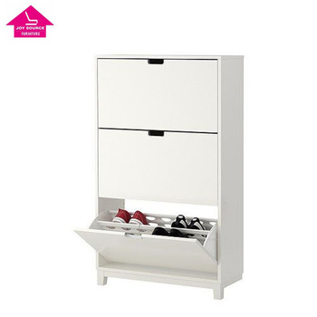 Shoe Cabinet with 3 Compartments Hot Sale Shoe Storage