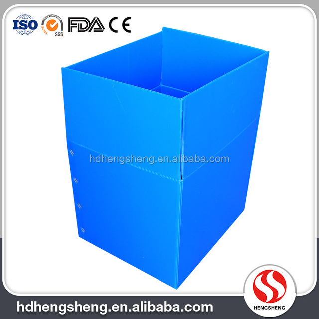 New Design Factory Provide customized foldable corrugated PP plastic carton box