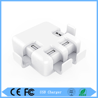 Quick Charge 4 Port USB Charger Desktop Charging Station