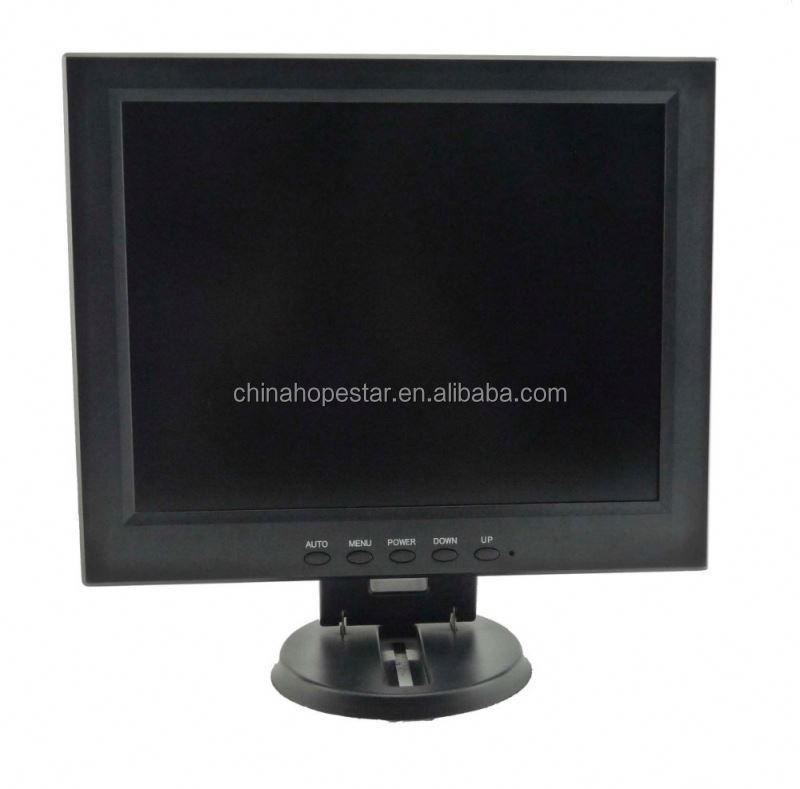 longlife square lcd monitor 12 inch with industrial grade panel