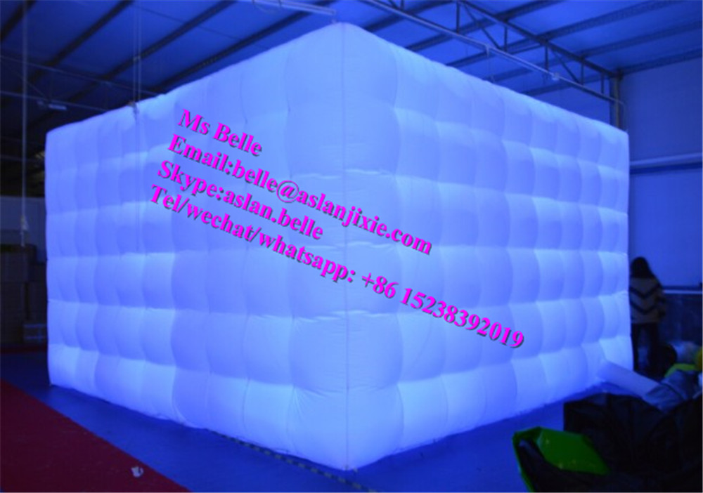 Hot Sale LED Inflatable Photo Booth / Portable Photo booth for Sale