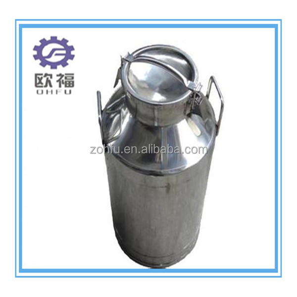 stainless steel milk container/ dairy milk cans sale