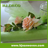 Limen green sisal web non woven roll floral wraps