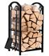 Heavy Duty Firewood Log Rack Firewood Storage Fireplace Tool Set with 4 Tools