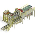 High Speed Depalletizing Line Empty Cans Depalletizer Machine