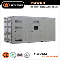High performance Diesel generator 1000kw with world famous engine