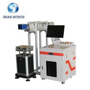 Professional smart laser marking machine with ipg or raycus fiber