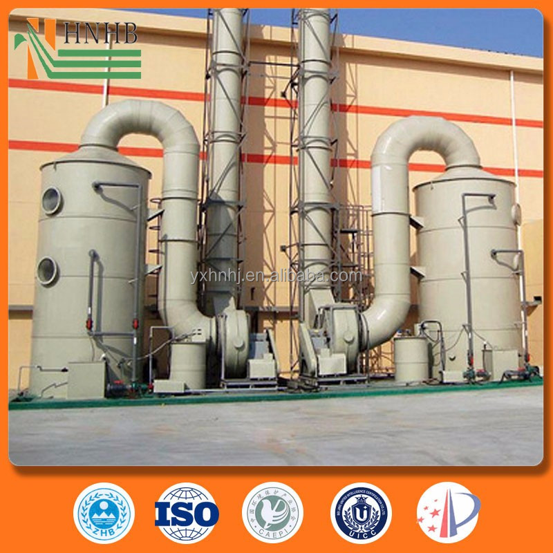Flue Gas Treatment Sulfur Dioxide Fume Scrubber System