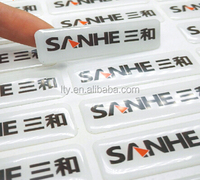 Cheap price custom silicone stickers 3D