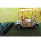 single seat 3 or 4 wheel new drive electric golf ball picking cart brands low price for sale