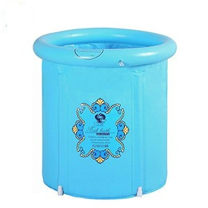 Anbel PVC plastic inflatable Pool Kids Baby Bath Tub Above Ground Pool Colorful And Safety Bathtub
