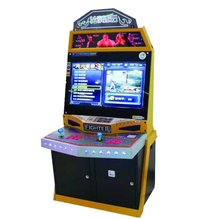 2019 Amazon 32 ''LCD Galaga <span class=keywords><strong>Arcade</strong></span> <span class=keywords><strong>Game</strong></span> V Fight Stick Simulator Rechtop Screen Coin Coin Operated Games <span class=keywords><strong>Machine</strong></span>