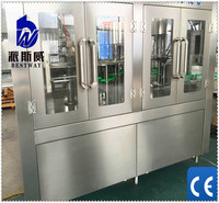 Small PET Bottle Filling Machine / 3 in 1 Unit Mineral Water Bottling Plant
