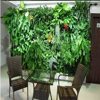 green plastic plants wall,artificial plants wall for meeting room