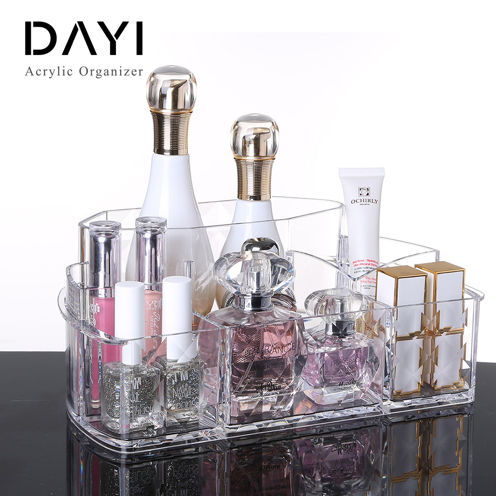 Manufacturing Clear Storage Box Customized Acrylic Organizer Makeup