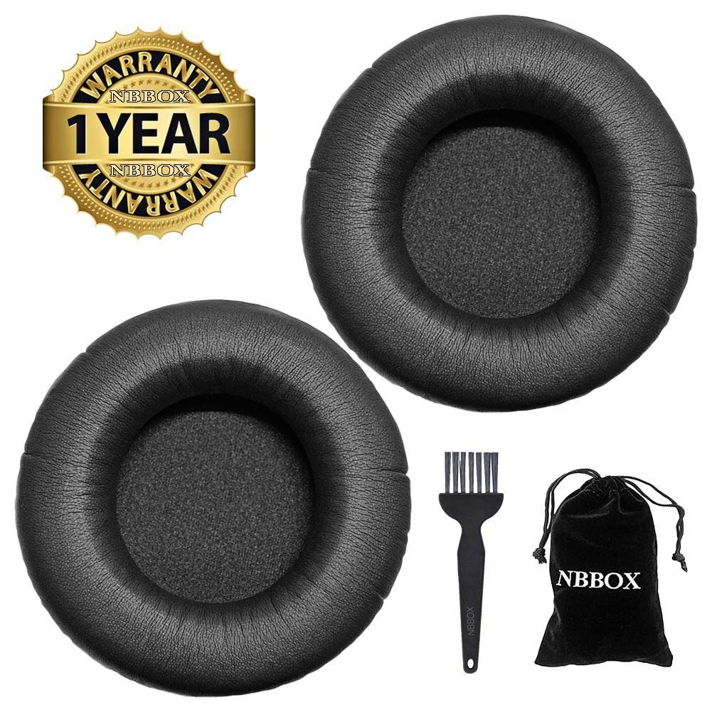 Razer Kraken Replacement Ear Pads Cushion for Razer Kraken Pro Gaming Headphone with Velvet Bag and Cleaning Brush