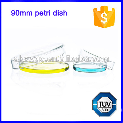 Lab Borosilicate Glass Petri Dish, 9cm Petri Dishes Supplier