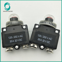 ST-1B 20 amp 25 amp Auto Waterproof Manual Reset thermal Overload Protectors Circuit Breaker