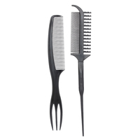 Salon Hair Dyeing Brush Set Hair Coloring Tint Comb Kit for Hair Oil Mask Pigment Professional Hairdressing Double Side Dye Comb