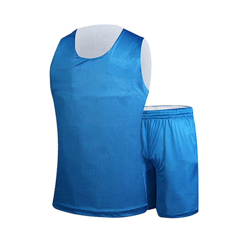 b3001aefb8f Get Quotations · Senston New MEN Basketball Jersey and Short Reversible  Mesh Tank Tops Jersey-Uniform(6