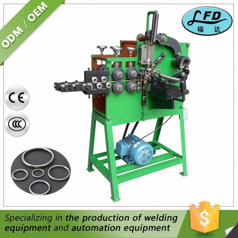 Factory Direct Price Key Ring Making Machine