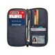 Document Organizer & RFID Passport Wallet Case, Family custom Passport Holder