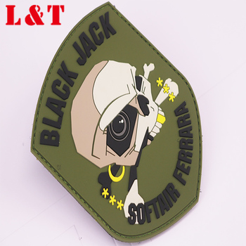 3D Pvc Patch Silicone Rubber Patch