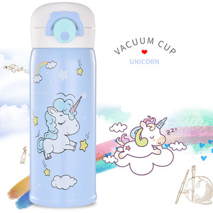 Stainless Steel Insulated Unicorn Cup Cute Female Student Gift Water Bottle