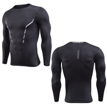 2017 China customized men fitness sports apparel compressed shirts athletic apparel manufacturers