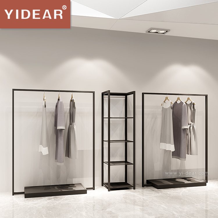 Wall Mounted Clothing Racks,<strong>Retail</strong> Shop Floor Decoration Display,floor display rack