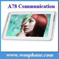 Hot -Selling 7'' Ampe A78 2G GSM Phone Call Communication Version Google Android 4.1 with Bluetooth Wi-Fi tablets