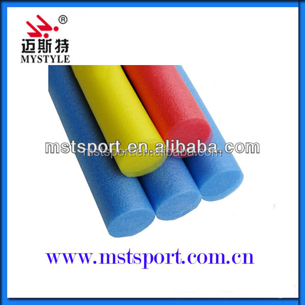 Colorful soft pool noodles for swim