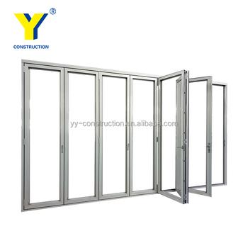 Esterno Prezzi Grande Scorrevole In Alluminio Pieghevole Garage