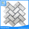 white carrara marble, white herringbone marble mosaic tile, egyptian marble floor tiles