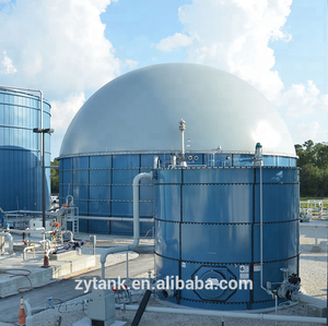 Anaerobic digester tank GFS tank for biogas plant
